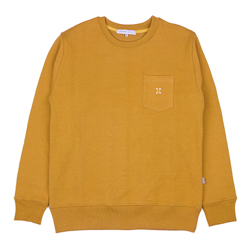 980g SWEAT SHIRT (MUSTARD)
