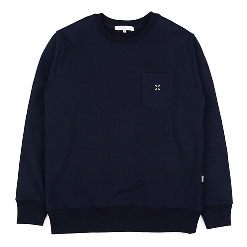 980g SWEAT SHIRT (NAVY)
