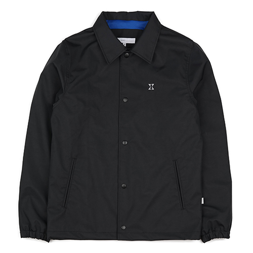 WATERPROOF COACH JACKET (BLACK)
