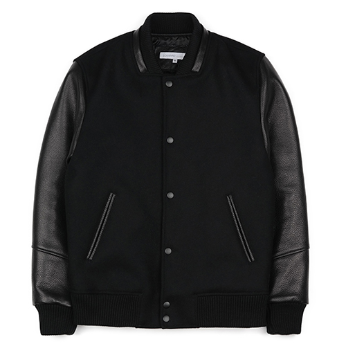 STADIUM JACKET (DEEP BLACK)
