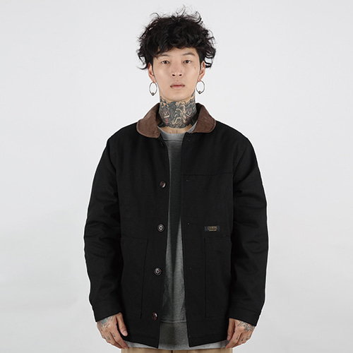 HEAVY WORK JACKET (BLACK)