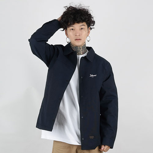 HEAVY COACH JACKET (DARK NAVY)