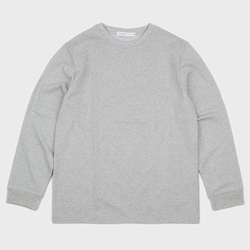 BASIC LONG SLEEVE TEE (GREY)