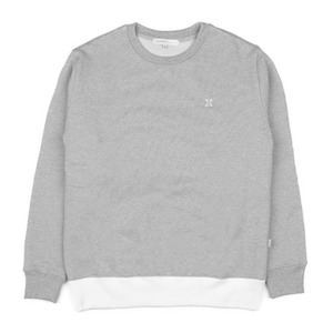 980G SWEAT SHIRT (GREY-WHITE)