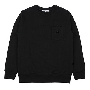 980g SWEAT SHIRT (BLACK)