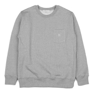 980g SWEAT SHIRT (GREY)