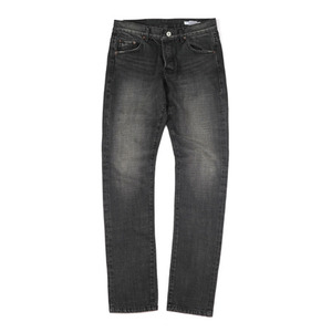BLACK SELVEDGE WASHED DENIM