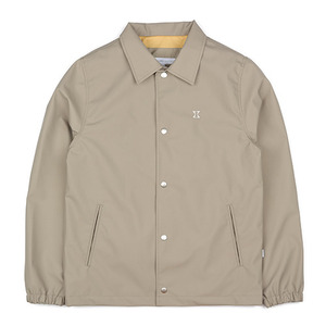 WATERPROOF COACH JACKET (DEEP BEIGE)
