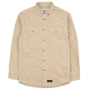 WORK SHIRT JACKET (BEIGE)