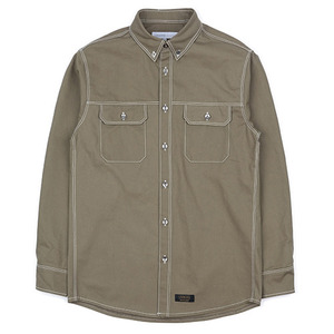 WORK SHIRT JACKET (KHAKI)