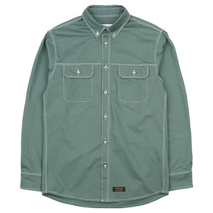 WORK SHIRT JACKET (EMERALD)