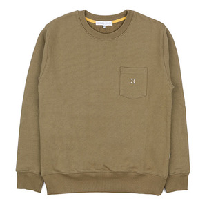 980g SWEAT SHIRT (KHAKI)
