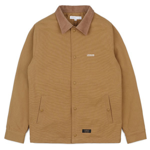 COTTON COACH JACKET(CAMEL)