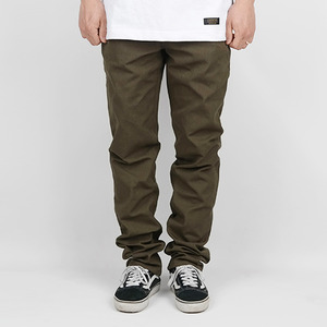 BASIC COTTON PANTS (OLIVE)
