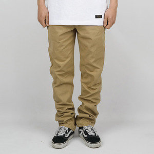 BASIC COTTON PANTS (BEIGE)