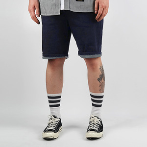 ONE WASHED SHORTS (INDIGO)
