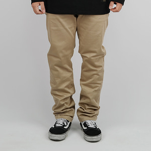 COTTON PANTS (BEIGE)