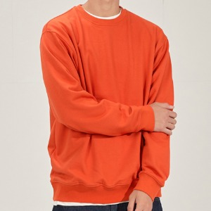 SWEATSHIRT (DEEP ORANGE)
