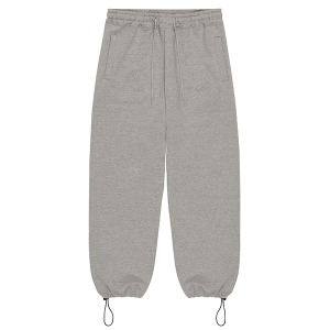 STRING SWEAT PANTS (GREY)