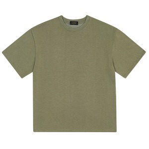 BASIC HALF TEE (LIGHT KHAKI)