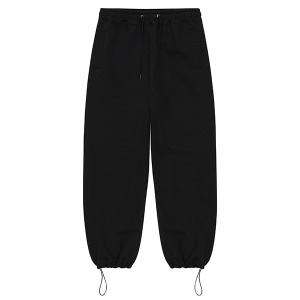 STRING SWEAT PANTS (BLACK)