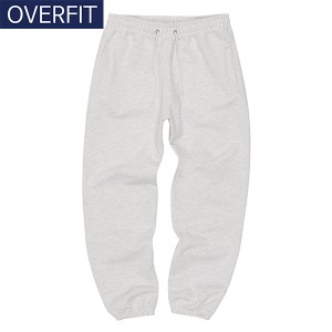 OVERSIZE JOGGER PANTS (LIGHT GREY)